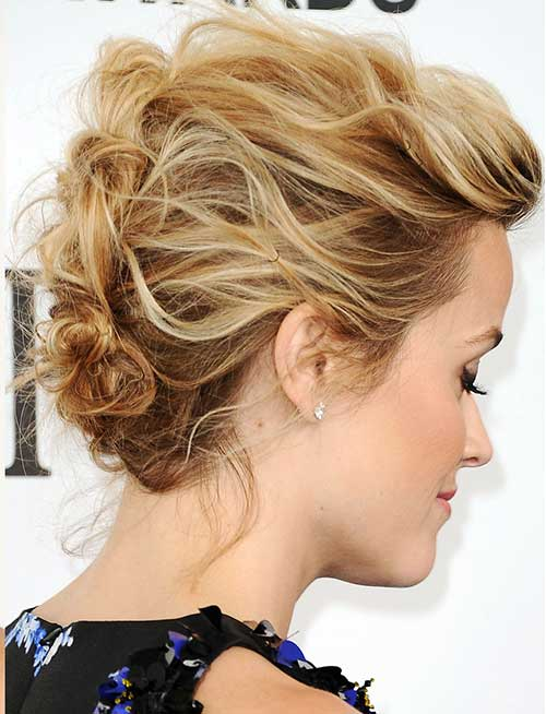 updo styles for short hair 15 special updos for hairstyles hairstyles 4527 | Updos for Short Hairstyle
