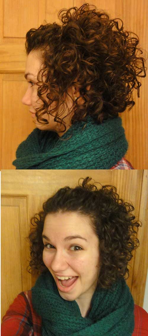 Cute Short Haircuts For Curly Hair-10