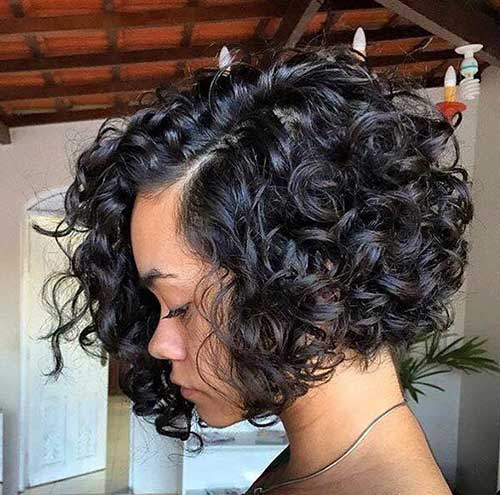 Cute Short Curly Hairstyles-10