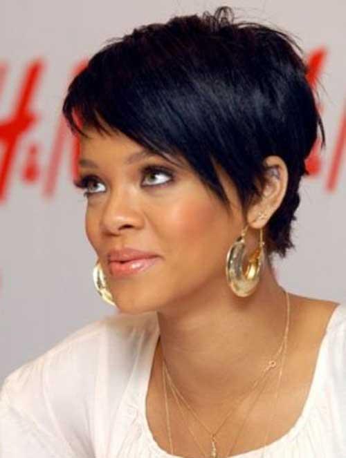 Fine 15 Best Rihanna Pixie Cuts Short Hairstyles 2016 2017 Most Short Hairstyles Gunalazisus