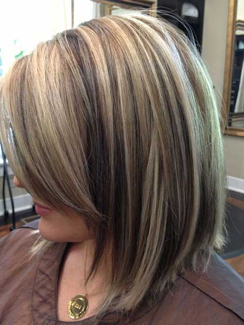 Short Haircuts with Highlights-10