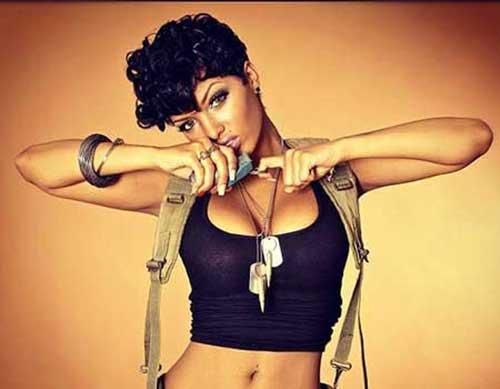 Short Hairstyles For Black Women 2015-10