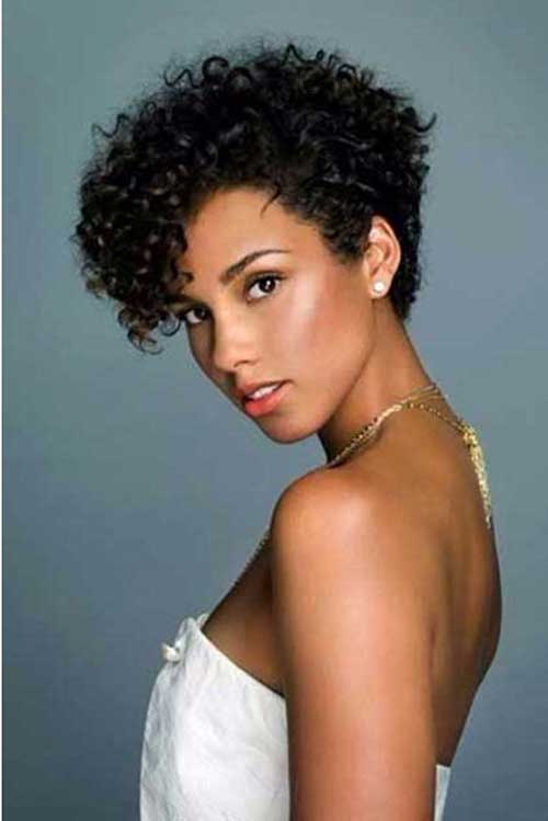 Styling Short Curly Hair 20 New Short Curly Hair Styles  Short Hairstyles 2016  2017 .