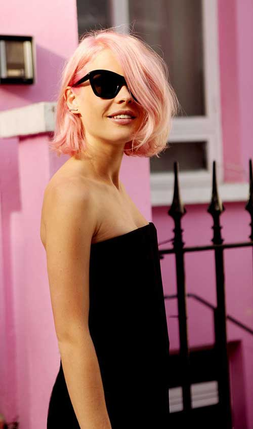 Short Hair Color Trends 2015-11