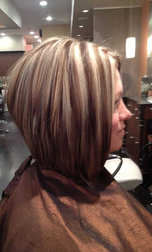 Short Haircuts with Highlights-11