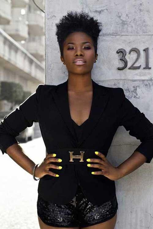 Short Hairstyles For Black Women 2015-11