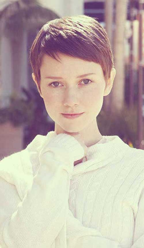 Pleasing 20 Brown Pixie Cuts Short Hairstyles 2016 2017 Most Popular Hairstyles For Women Draintrainus
