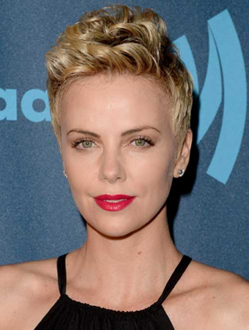 15 Charlize Theron Pixie Cuts Short Hairstyles 2018