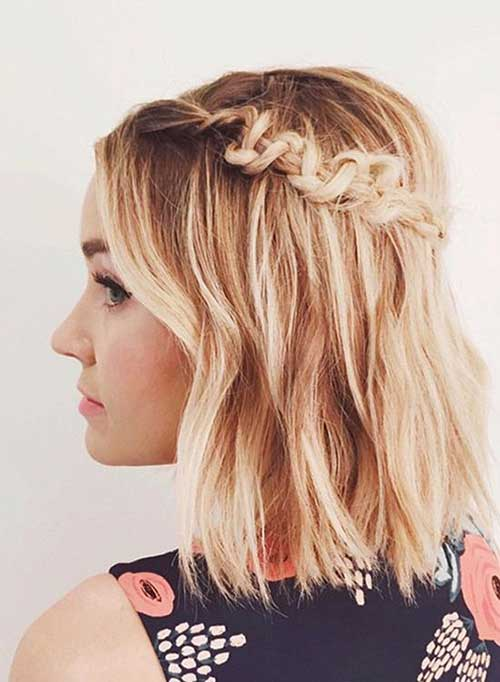 Cute Hairstyles for Short Hair-12