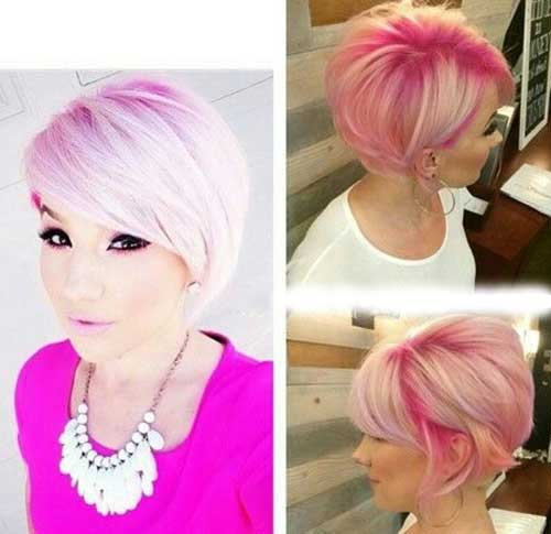 Cute Short Hairstyles For Girls-12