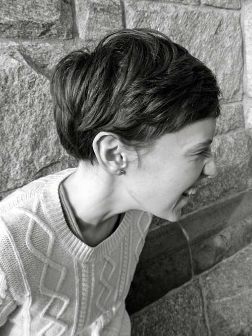 Cute And Easy Hairstyles For Short Hair-13