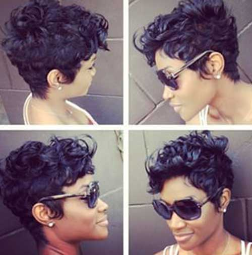 Cute Short Curly Hairstyles-13