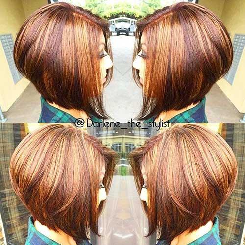 Short Haircuts with Highlights-13