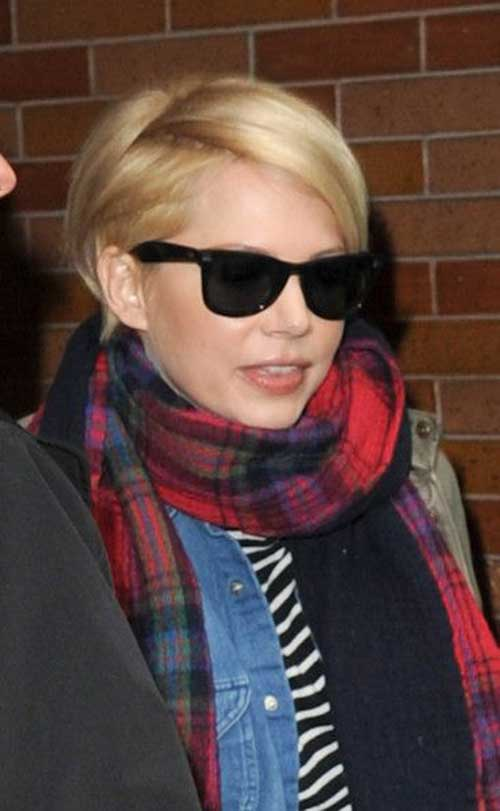 Michelle Williams Pixie Cuts-14