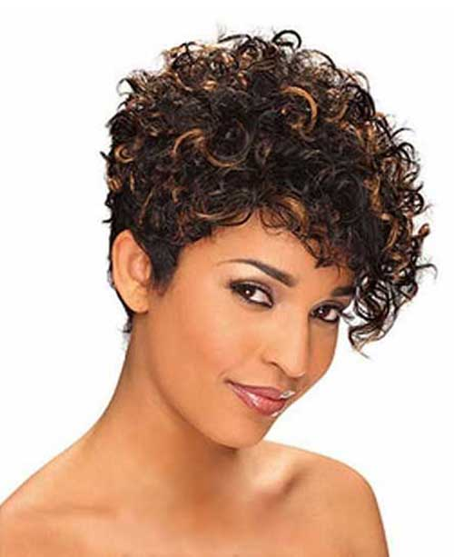 Cute Short Curly Hairstyles-15