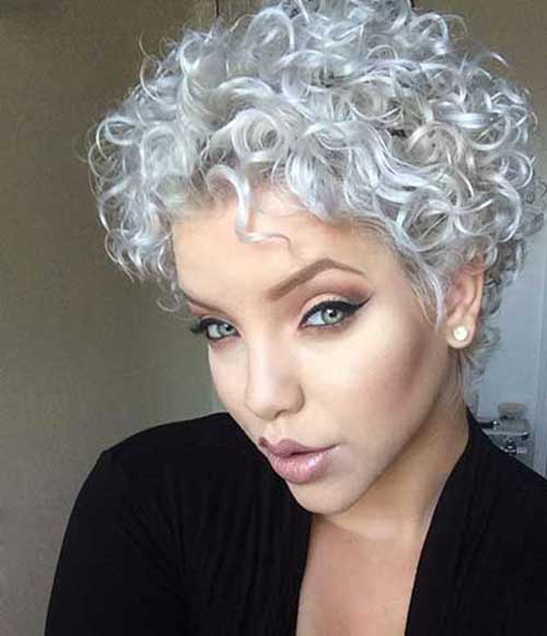 Short Natural Curly Hairstyles-15