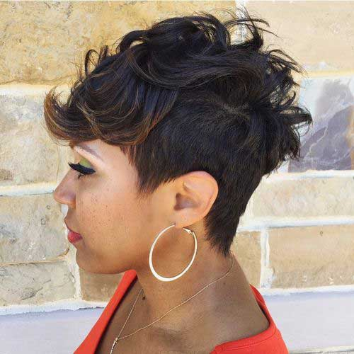 20 Cute Hairstyles For Black Girls Short Hairstyles 2017