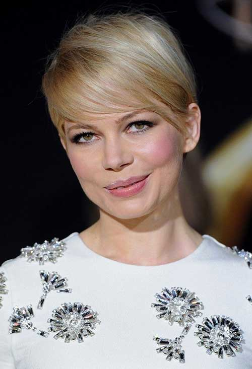 20 Michelle Williams Pixie Cuts