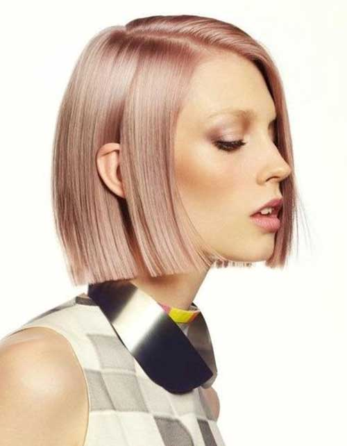 Short Hair Color Trends 2015-16
