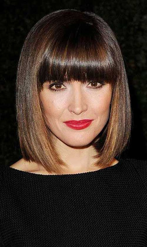 Short Haircuts with Bangs-16