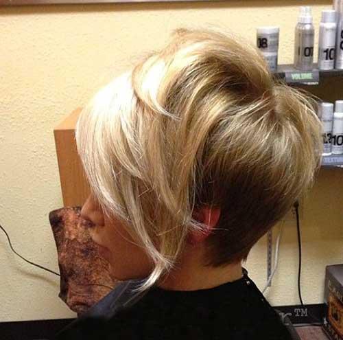 Short Blonde Hair-17