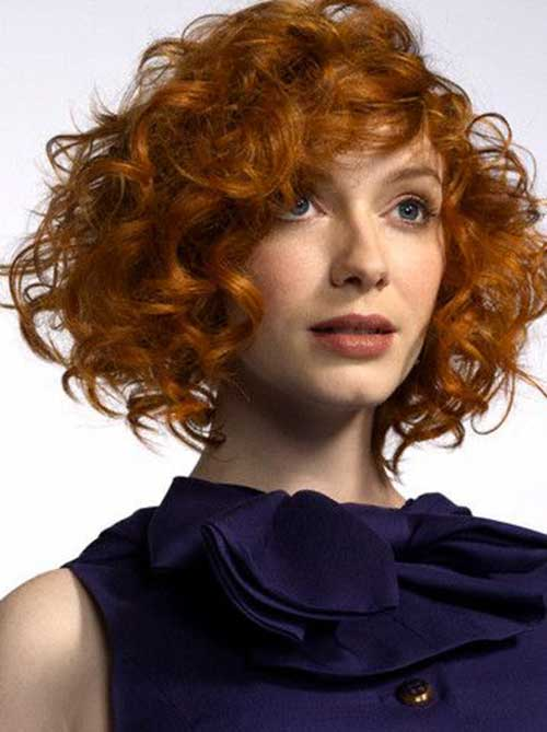 Short Curly Hairstyles 2015-17