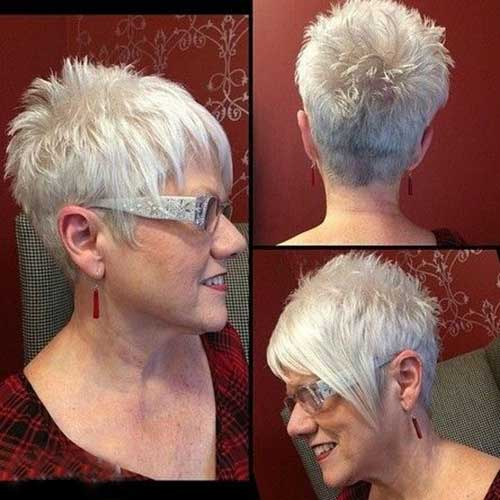 Short Hair For Women Over 50-17