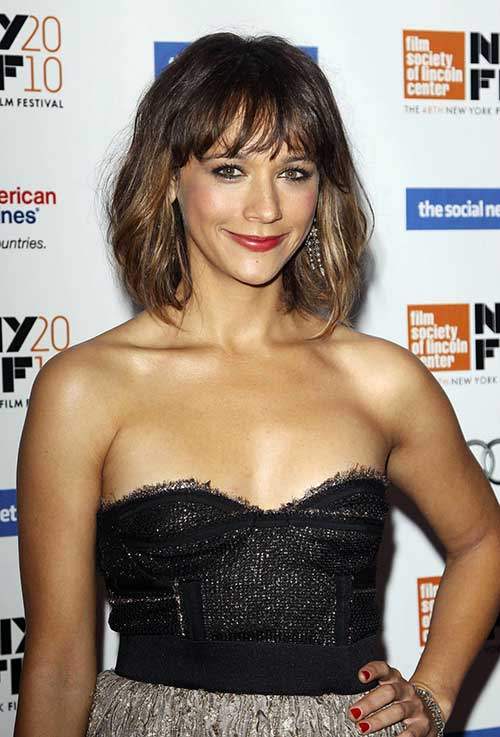 Short Haircuts with Bangs-18