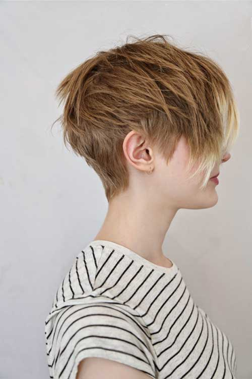Short Layered Hair-18