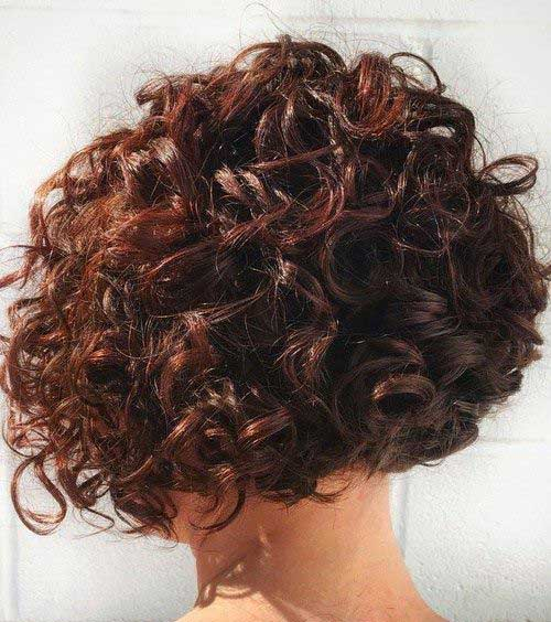 Short Curly Hair Styles-19