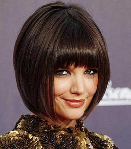 Short Haircuts with Bangs-19