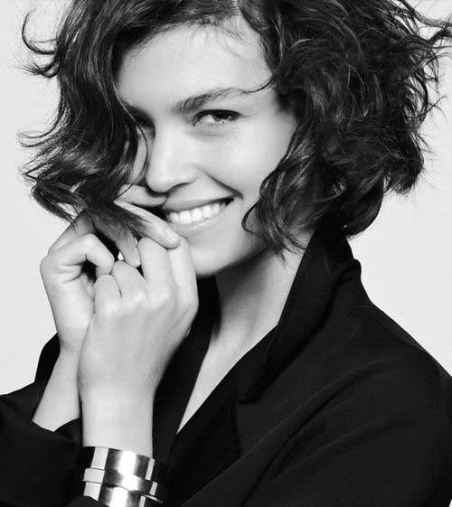 Cute Short Curly Hairstyles-20