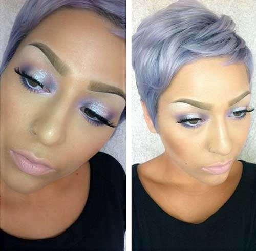 Short Hair Color Trends 2015-20