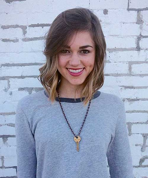 Cute Short Hairstyles For Girls-21