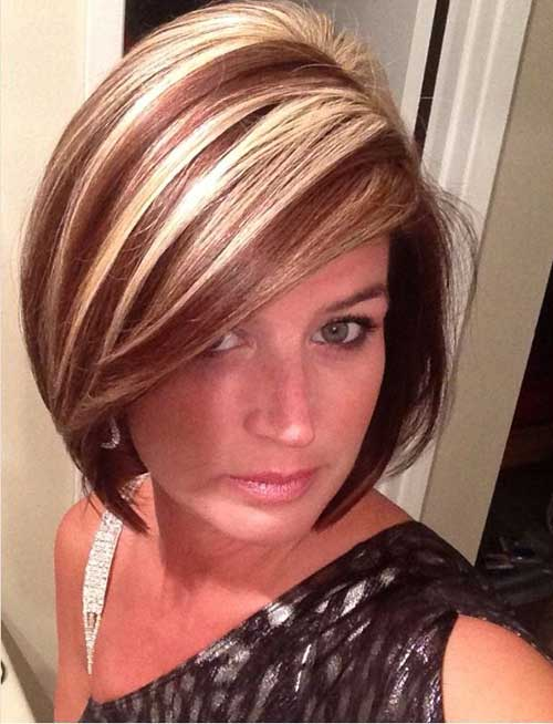 20 Short Haircuts With Highlights Short Hair Colors