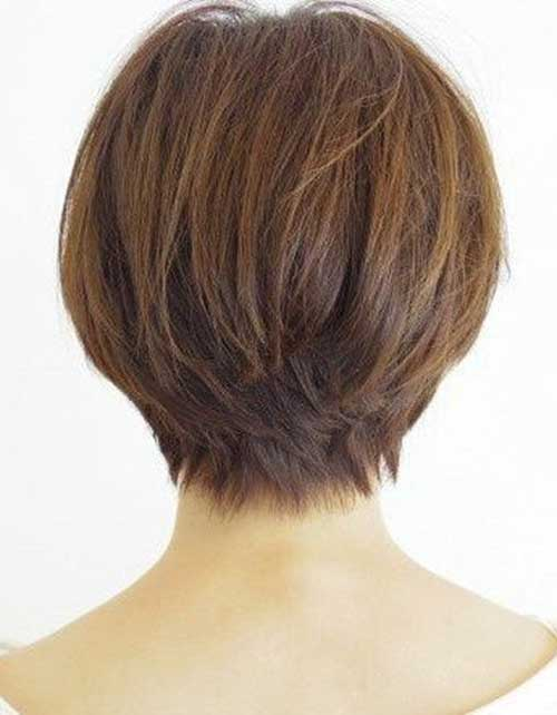 Cute Short Hairstyles For Girls-22