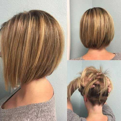 Short Haircuts with Highlights-23