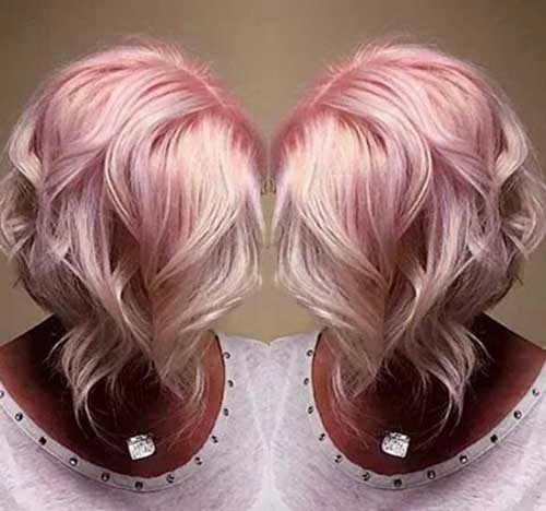 Short Hair Color Trends 2015-25