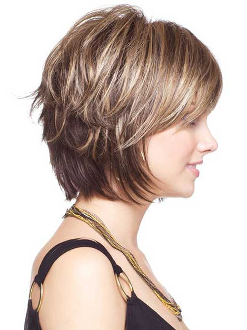 Short Layered Hair-25