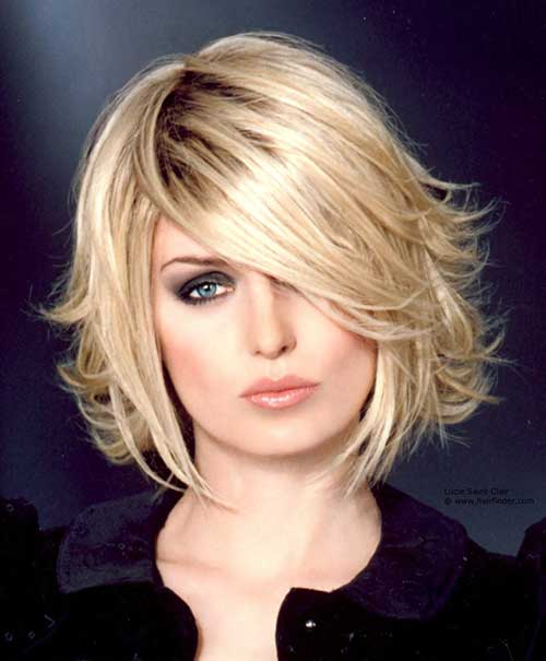 Short Layered Hair-26
