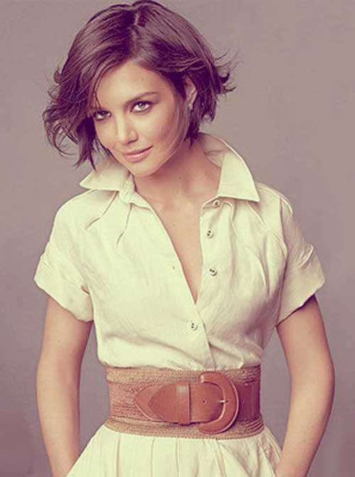 Cute Short Hairstyles For Girls-27