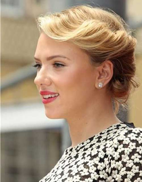 Cute Hairstyles for Short Hair-29