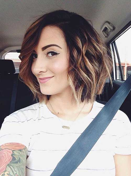 Cute Short Hairstyles For Girls-29