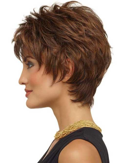 Short Layered Hair-29