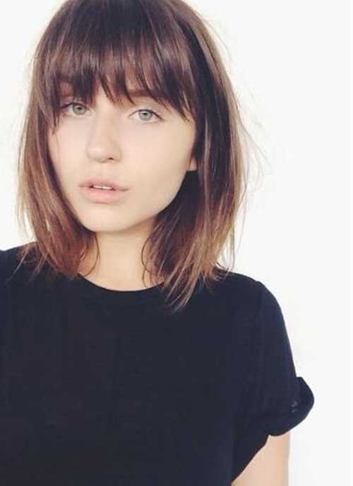 Short Haircuts with Bangs-32