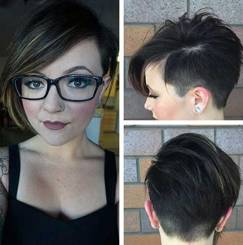 Cute Hairstyles for Short Hair-41