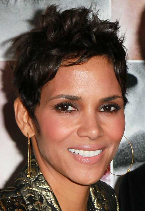 20 Best Halle Berry Pixie Cuts Short Hairstyles 2018