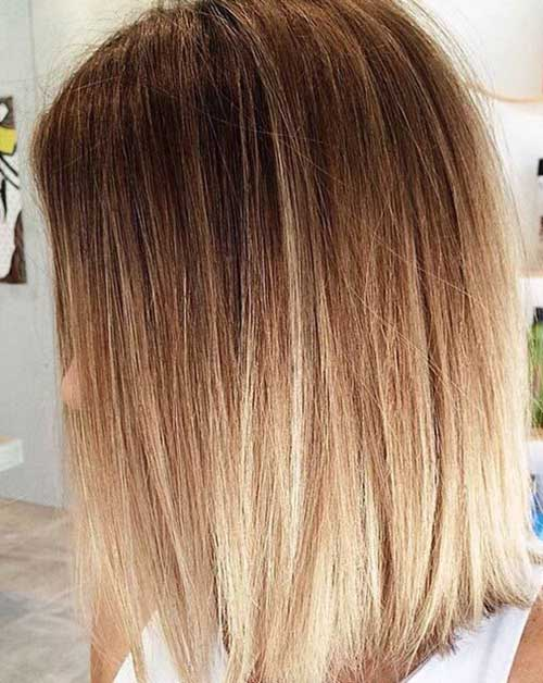 Long Bob Ombre Hair-6