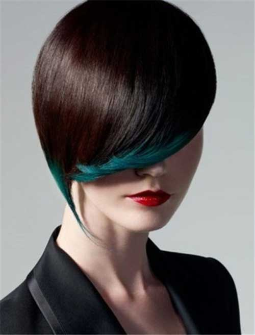 Short Hair Color Trends 2015-6