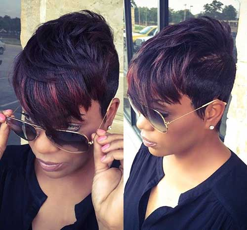 Short Haircuts with Bangs-6